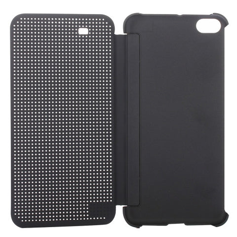 online retailer 895fc 69546 HTC One X9 Smart Horizontal Flip Dot View Case with Sleep and Wake-up  Function(Grey)