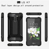 Buy Online  LG K7 Tough Armor TPU + PC Combination Case(Black) LG Cases - MEGA Discount Online Store Ghana