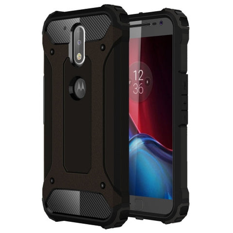Buy Online  Motorola Moto G (4rd gen) & G (4rd gen) Plus Tough Armor TPU + PC Combination Case(Black) Motorola Cases - MEGA Discount Online Store Ghana