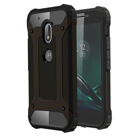 Buy Online  Motorola Moto G4 Play Tough Armor TPU + PC Combination Case(Black) Motorola Cases - MEGA Discount Online Store Ghana