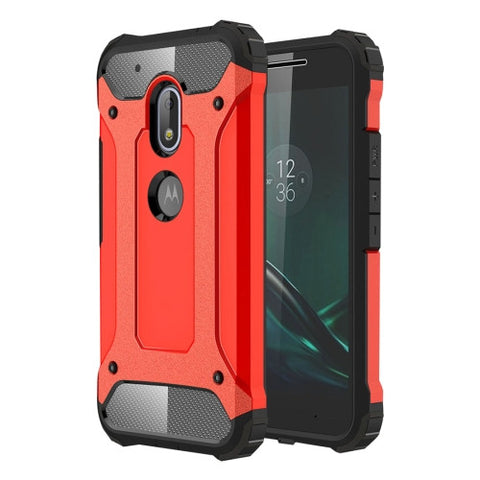 Buy Online  Motorola Moto G4 Play Tough Armor TPU + PC Combination Case(Red) Motorola Cases - MEGA Discount Online Store Ghana