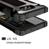 Buy Online  LG K5 Tough Armor TPU + PC Combination Case(Black) LG Cases - MEGA Discount Online Store Ghana