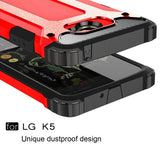 Buy Online  LG K5 Tough Armor TPU + PC Combination Case(Red) LG Cases - MEGA Discount Online Store Ghana