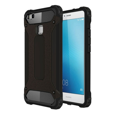Buy Online  Huawei P9 Lite Tough Armor TPU + PC Combination Case(Black) Huawei Cases - MEGA Discount Online Store Ghana