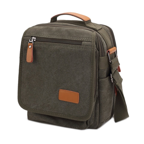 Multifunction Canvas Men Messenger Bags Travel Crossbody Shoulder Business  Briefcase Tablet Bag Hand Bag 8da1d71bd03d8