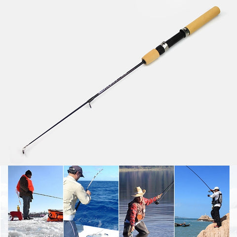35cm Portable Ice Fishing Rod Shrimp Rod Lure Rod Fishing Gear Fittings , Extension Length :100cm
