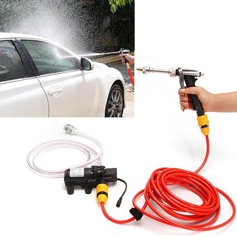 70W Portable High Pressure Car Cleaning Pump Washing Machine Device, DC 12V