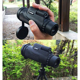 Buy Online  12x50mm Life Waterproof Optical Monocular Telescope with Universal Holder Clip, Clip Suitable for Width 5.8cm-9.2cm Mobile Phones(Black) Lens - MEGA Discount Online Store Ghana