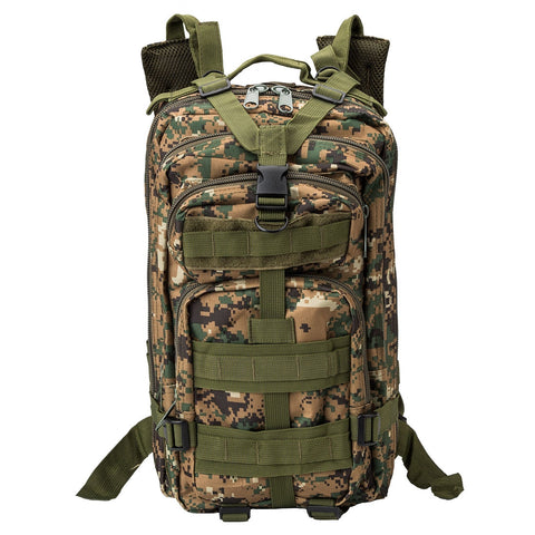 f26d49e31630 INDEPMAN DL-B002A Fashion Camouflage Style Men Oxford Cloth Backpack  Shoulders Bag 25L Outdoors Hiking Camping Travelling Bag 3P Tactical  Package with ...