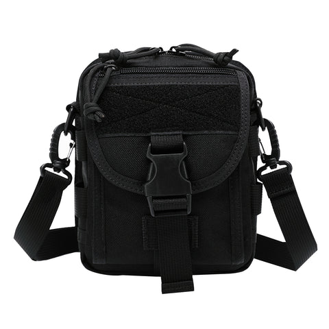 Buy Online  INDEPMAN DL-B020 Fashion Army Style Oxford Cloth Tactical Package Crossbody Bag Shoulder Sling Bag Hand Bag Messenger Bag, Size: 17 x 15 x 8 cm(Black) Bags & Backpacks - MEGA Discount Online Store Ghana
