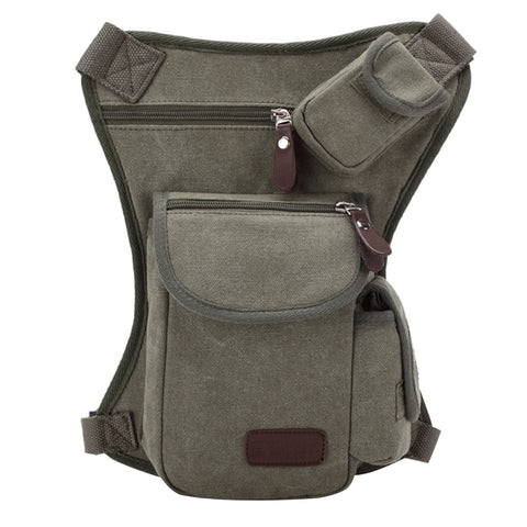 Buy Online  Multifunction Canvas Messenger Mobile Phone Bags Travel Crossbody Shoulder Waist Bag, Size: 31x24x5cm(Army Green) Bags & Backpacks - MEGA Discount Online Store Ghana