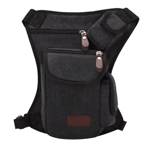 Buy Online  Multifunction Canvas Messenger Mobile Phone Bags Travel Crossbody Shoulder Waist Bag, Size: 31x24x5cm(Black) Bags & Backpacks - MEGA Discount Online Store Ghana