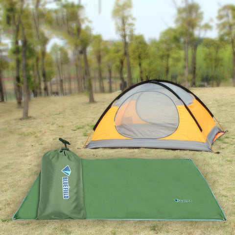 Outdoor Oxford Cloth Camping Mat Tent Blanket Sun Pergola Shelter Awning Picnic Mattress Camping Cushion, XS Size: 115x220cm, Random Color Delivery