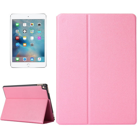 Buy Online  IPad Pro 9.7 inch Frosted Texture Horizontal Flip Solid Color Leather Case with Holder(Pink) Apple Cases - MEGA Discount Online Store Ghana