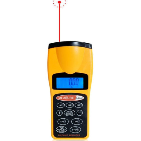 1.8 inch LCD Ultrasonic Distance Measurer With Red Laser Point, CP-3007 (1.5-60 feet) Electrotools & Handtools - MEGA Discount Online Store Ghana