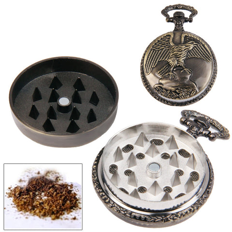 Buy Online  Eagle Pocket Watch Style Alloy Tobacco Cigarette Grinder Smokers Inn - MEGA Discount Online Store Ghana