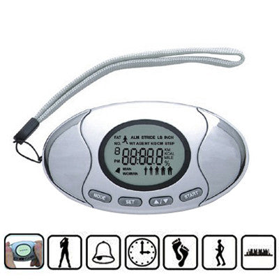 Buy Online  2 in 1 Digital Pedometer with Fat Analyzer Health & Fitness - MEGA Discount Online Store Ghana