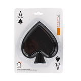 Buy Online  Spade Poker Style Cigarette Ashtray, Size: 111x100x30mm(Black) Smokers Inn - MEGA Discount Online Store Ghana