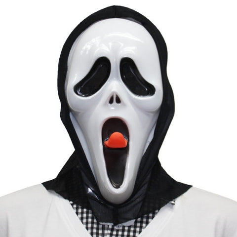 Buy Online  Halloween Party Scream Ghost Mask with Head Cover Masks & Gloves - MEGA Discount Online Store Ghana
