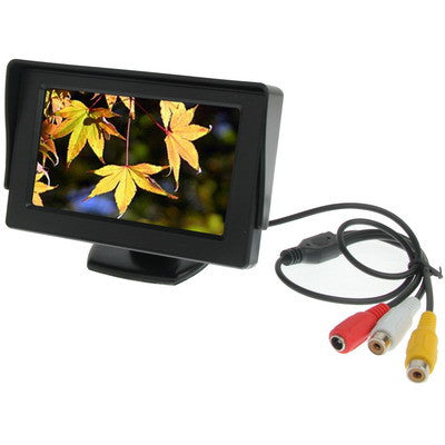 Buy Online  4.3 inch Car Color Monitor with Adjustable Angle Holder & Universal Sunshade , Dual Video Input Car Accessories - MEGA Discount Online Store Ghana
