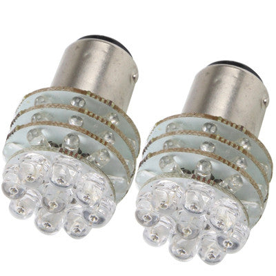 Buy Online  1156 Red 45 LED Car Signal Light Bulb (Pair) LED & Bulbs - MEGA Discount Online Store Ghana