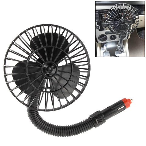 Buy Online  Car Truck Vehicle Cooling Mini Fan with Cigarette Plug 12V Powered(Black) Car Accessories - MEGA Discount Online Store Ghana