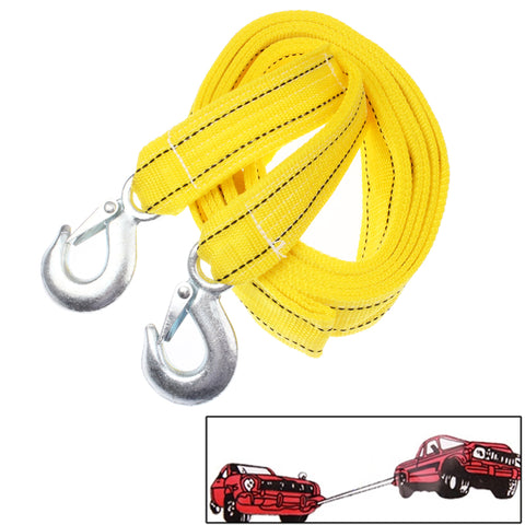 5 Tons Vehicle Towing Cable Rope, Length: 4m(Yellow) Car Accessories - MEGA Discount Online Store Ghana
