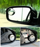 2 PCS SY-022 Car Vehicle Mirror Blind Spot Rear View Small Round Mirror, Diameter: about 5.6cm(Black) Car Accessories - MEGA Discount Online Store Ghana