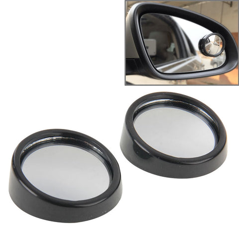 Buy Online  2 PCS SY-022 Car Vehicle Mirror Blind Spot Rear View Small Round Mirror, Diameter: about 5.6cm(Black) Car Accessories - MEGA Discount Online Store Ghana
