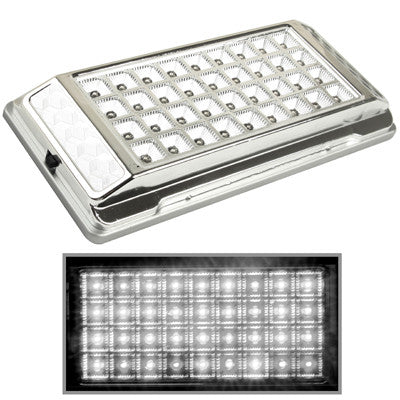 Buy Online  White Interior 36 LED Roof Light for Vehicle (DC 12V)(Silver) LED & Bulbs - MEGA Discount Online Store Ghana