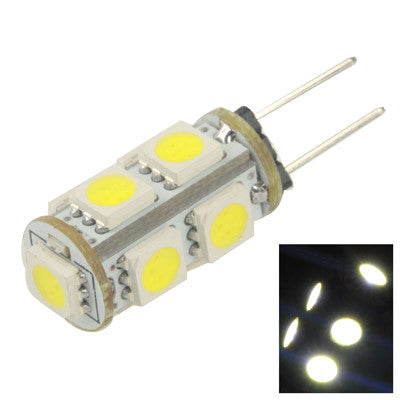 Buy Online  Car G4 White 9 LED 5050 SMD Light Bulb, DC 12V LED & Bulbs - MEGA Discount Online Store Ghana