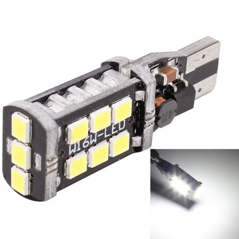 Buy Online  2PCS T15 3W White LED 300LM SMD 2835 Car Rear Fog Lamp / Backup Light for Vehicles, DC 12V LED & Bulbs - MEGA Discount Online Store Ghana