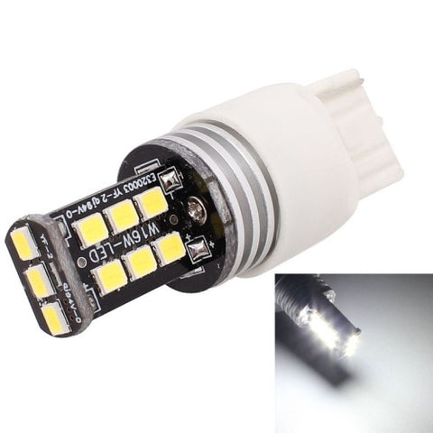 Buy Online  2PCS T20 Single Wire 3W White LED 300LM SMD 2835 Car Rear Fog Lamp / Backup Light for Vehicles, DC 12V LED & Bulbs - MEGA Discount Online Store Ghana