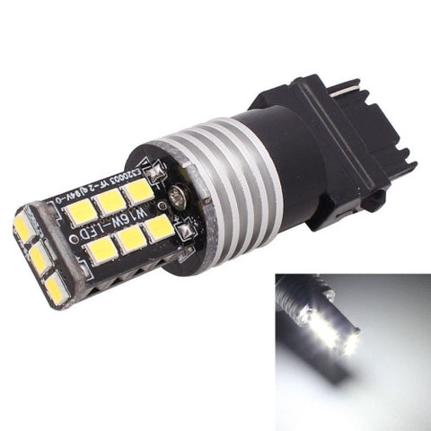 Buy Online  2PCS T25 Single Wire 3W White LED 300LM SMD 2835 Car Rear Fog Lamp / Backup Light for Vehicles, DC 12V LED & Bulbs - MEGA Discount Online Store Ghana