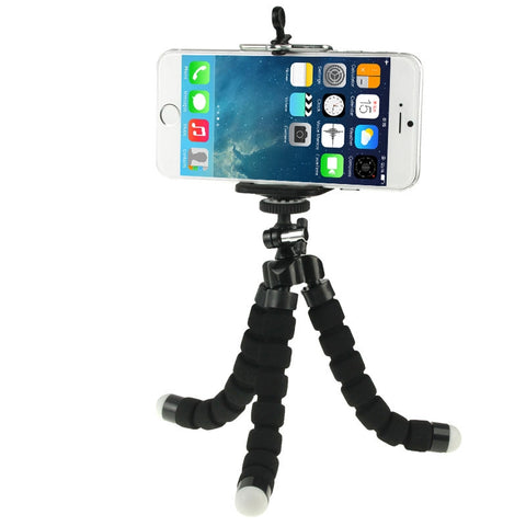 Buy Online  Flexible Octopus Bubble Tripod Holder Stand Mount for Mobile Phone / Digital Camera(Black) Lens - MEGA Discount Online Store Ghana