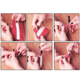 Buy Online  3 PCS Decorative Pattern Design Nail Decals Makeup & Beauty - MEGA Discount Online Store Ghana