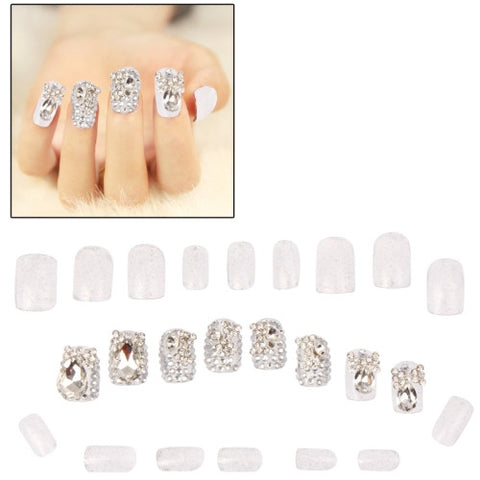 Buy Online  3D Design Rhinestone Fake Nails Makeup & Beauty - MEGA Discount Online Store Ghana