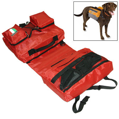 Buy Online  Fashionable Outward Pet Backpack Saddle Bag Dog Carrier Bag Shoulder Bag Knapsack with Water Bowl(Red) Pet Care - MEGA Discount Online Store Ghana