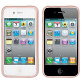 Buy Online  Brushed Texture TPU Cover for iPhone 4 & 4S (Pink) Apple Cases - MEGA Discount Online Store Ghana