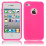 Buy Online  Smooth TPU Cover for iPhone 4 & 4S , iPhone 4(CDMA) , Red plum Apple Cases - MEGA Discount Online Store Ghana