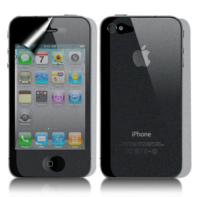 Buy Online  2 in 1 (Front Screen + Back Cover ) Diamond Film Screen Protector for iPhone 4 & 4S Screen Protectors - MEGA Discount Online Store Ghana