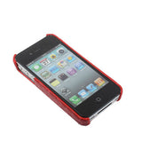 Buy Online  Crocodile Skin Style Plastic Cover for iPhone 4 & 4S / iPhone 4 (CDMA), Red Apple Cases - MEGA Discount Online Store Ghana