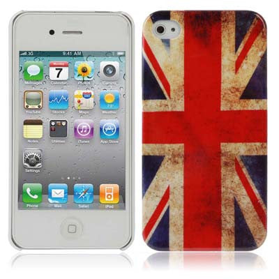 Retro United Kingdom Flag Style Plastic Cover for iPhone 4 / 4S / iPhone 4(CDMA) Apple Cases - MEGA Discount Online Store Ghana