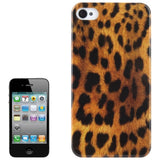Buy Online  Leopard Pattern Plastic Protective Cover for iPhone 4 & 4S (Brown) Apple Cases - MEGA Discount Online Store Ghana