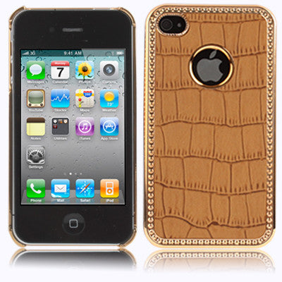 Buy Online  Plating Skinning Plastic Cover for iPhone 4 & 4S Apple Cases - MEGA Discount Online Store Ghana
