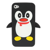 Buy Online  High Quality Penguin Style Silicone Cover for iPhone 4 & 4S(Black) Apple Cases - MEGA Discount Online Store Ghana