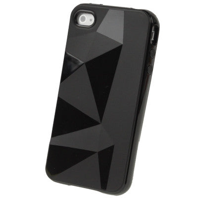 Buy Online  Diamond TPU Protective Cover for iPhone 4 & 4S (Black) Apple Cases - MEGA Discount Online Store Ghana