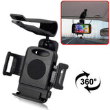 Buy Online  360 Degrees Rotation Car Universal Holder for iPhone / iPod Touch, Samsung / HTC / Nokia / Sony / GPS and Other Mobile Device Holders - MEGA Discount Online Store Ghana