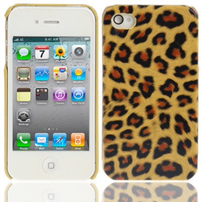 Buy Online  Leopard Pattern Style Plastic Cover for iPhone 4 & 4S Apple Cases - MEGA Discount Online Store Ghana