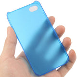 Buy Online  0.5mm Ultra Thin Scrub Plastic Cover for iPhone 4 & 4S(Blue) Apple Cases - MEGA Discount Online Store Ghana